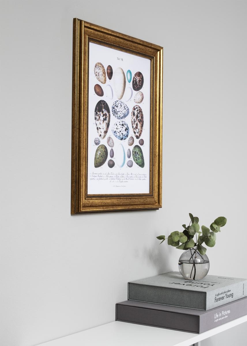 Rokoko Kullanvärinen 15x20 cm