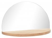 Peili Half Circle Shelf 25x40 cm