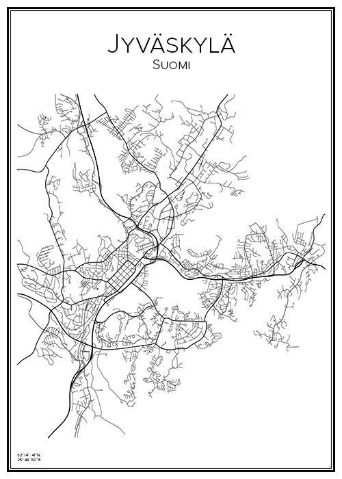 Kartta Jyvaskyla Bga Fi
