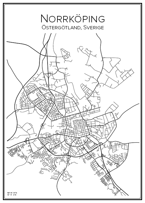 Kartta Norrkoping Bga Fi